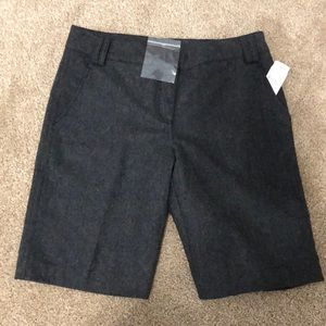 Foreign exchange wool short trousers